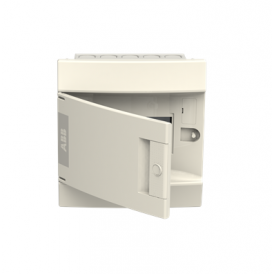 Бокс в нишу ABB Mistral41 6М непрозрачная дверь без клемм