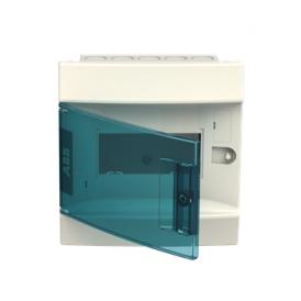 Бокс в нишу ABB Mistral41 6М зеленая дверь без клемм