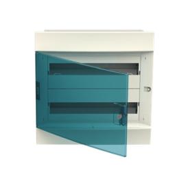 Бокс в нишу ABB Mistral41 36М зеленая дверь без клемм