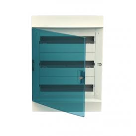Бокс в нишу ABB Mistral41 54М зеленая дверь без клемм