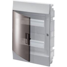Бокс в нишу ABB Mistral41 24М прозрачная дверь c клеммами