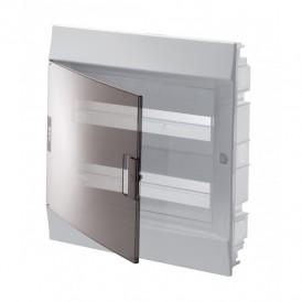 Бокс в нишу ABB Mistral41 36М прозрачная дверь 2 ряда c клеммами