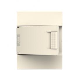Бокс настенный ABB Mistral41 8М непрозрачная дверь без клемм