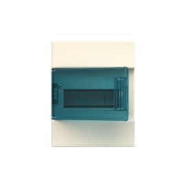 Бокс настенный ABB Mistral41 8М зеленая дверь без клемм
