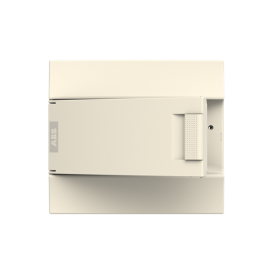 Бокс настенный ABB Mistral41 12М непрозрачная дверь без клемм