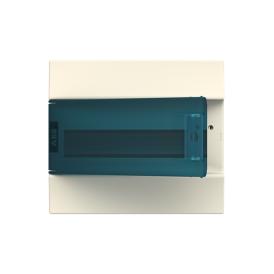 Бокс настенный ABB Mistral41 12М зеленая дверь без клемм