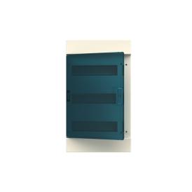 Бокс настенный ABB Mistral41 36М зеленая дверь без клемм