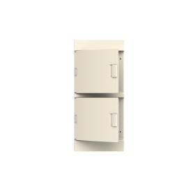 Бокс настенный ABB Mistral41 48М непрозрачная дверь без клемм