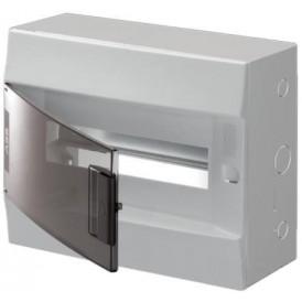 Бокс настенный ABB Mistral41 12М прозрачная дверь с клеммами