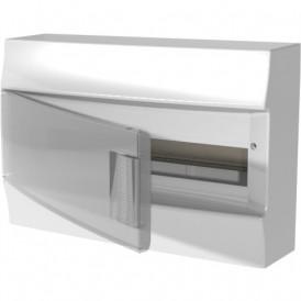 Бокс настенный ABB Mistral41 18М прозрачная дверь с клеммами