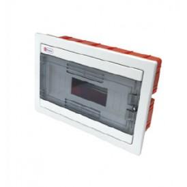 Шкаф скрытой установки на 12 автоматов 215х320х90 Экопласт