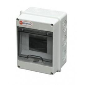 Шкаф открытой установки на 5-6 автоматов 160х120х90 IP65 Экопласт