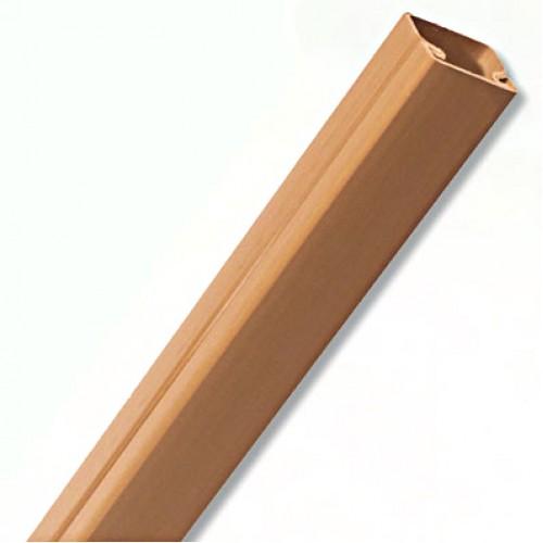 TMR 10х10 Миниканал самоклеющийся коричневый ДКС