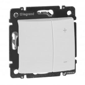 Светорегулятор 4-кнопочный 400Вт Legrand Valena 770062 белый