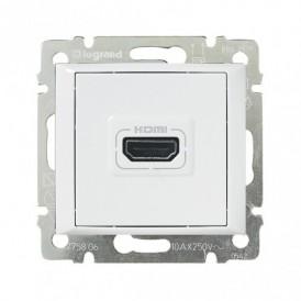 Розетка HDMI Legrand Valena 770085 белая