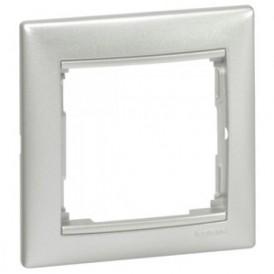 Рамка 1-постовая Legrand Valena 770151 алюминий