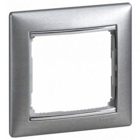Рамка 1-постовая Legrand Valena 770331 алюминий матовый