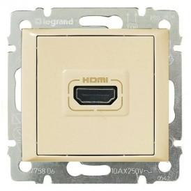 Розетка HDMI Legrand Valena 774185 слоновая кость