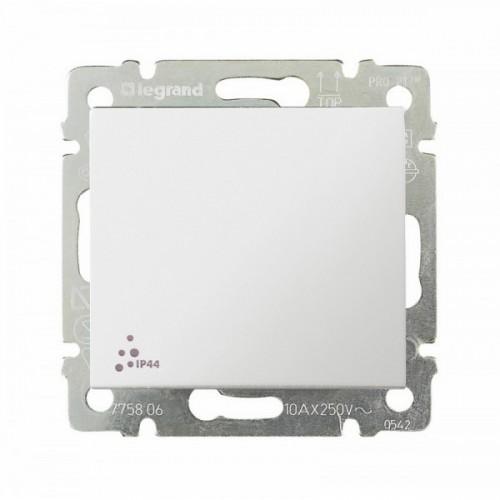 Выключатель 1-кл. IP44 Legrand Valena 774201 белый