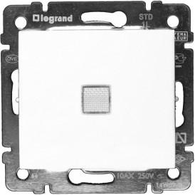 Переключатель 1-кл. промежуточный с подсветкой Legrand Valena 774448 белый