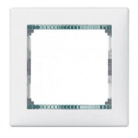 Рамка 1-постовая Legrand Valena 774461 белая кристалл