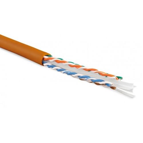 Витая пара, UTP-кабель UUTP4-C6-S23-IN-LSZH-OR-305  Hyperline