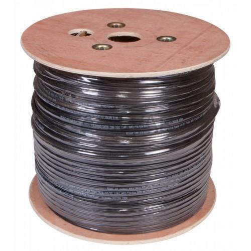 Витая пара, UTP-кабель UTP 4PR 24AWG, CAT5e наружный (OUTDOOR) + ТРОС*1  REXANT