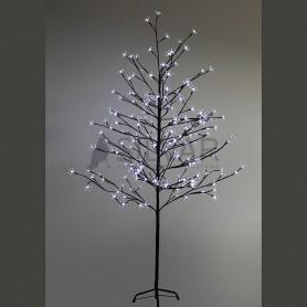 """Дерево комнатное """"Сакура"""", коричневый цвет ствола и веток, высота 1.5 метра, 120 светодиодов белого цвета Neon-night 531-265"""