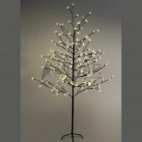 """Дерево комнатное """"Сакура"""", коричневый цвет ствола и веток, высота 1.5 метра, 120 светодиодов теплого белого цвета Neon-night 531-267"""