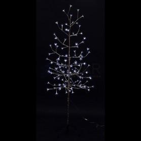 """Дерево комнатное """"Сакура"""", ствол и ветки фольга, высота 1.5 метра, 120 светодиодов белого цвета Neon-night 531-275"""