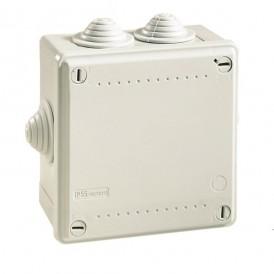 Коробка  100х100х50  ДКС 53800, IP 55, 6 вводов