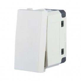Выключатель 45х22,5 мм белый Экопласт LK45