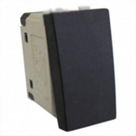 Выключатель 45х22,5 мм черный бархат Экопласт LK45