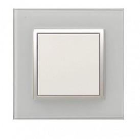 Рамка 1-постовая из алюминия  Экопласт LK45