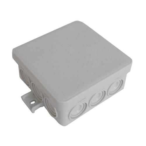 Коробка без сальников распаячная 85х85х38 JBL080, IP 55 12 вых.