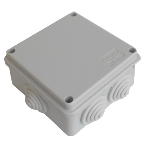 Коробка распаячная 100х100х55   JBS100, IP 55 6 вых.