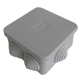 Коробка распаячная 70х70х40 JBS070, IP 44 6 вых.
