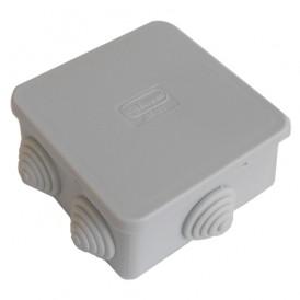 Коробка распаячная 85х85х40 JBS080, IP 44 6 вых.