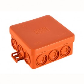 JBL085 коробка огнестойкая E60-E90  85х85х38 12 вых., IP55, 2P (0,15-4,0мм2) Экопласт
