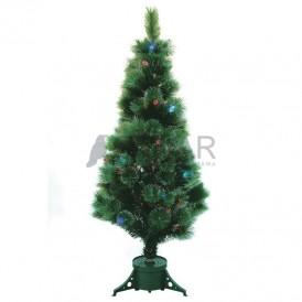 Новогодняя Ель , фибро-оптика, 120 см, 83 ветки, без насадок Neon-night 533-203