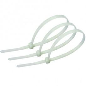 Хомут кабельный 2,5х100 мм Экопласт 45100 белый