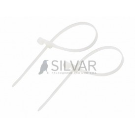 Хомут под винт nylon 3.6х100 мм 100шт Rexant 07-0104 белый