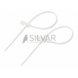 Хомут под винт nylon 4.8х200 мм 100шт Rexant 07-0204 белый