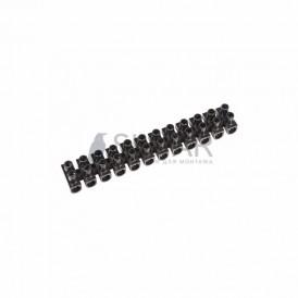 Колодка клеммная КВ-6 (2,5-6 мм²) 6А черный REXANT