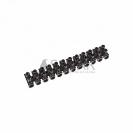 Колодка клеммная КВ-10 (4-10 мм²) 10А черный REXANT
