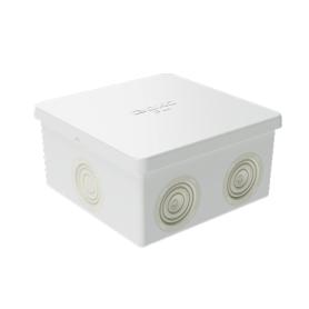 Коробка  80х80х40  ДКС 53700, IP 44, 6 вводов