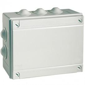 Коробка 120х80х50, ДКС 53900, IP55, 6 вводов