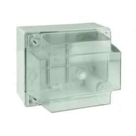 Коробка ответвительная 150х110х135 мм с гладкими стенками прозрачная IP56 ДКС