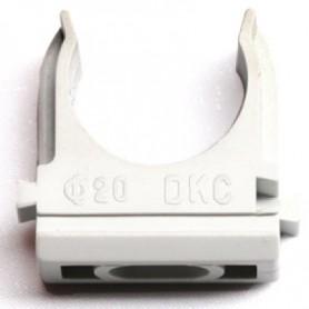 Держатель c защелкой для труб d 16 мм ДКС