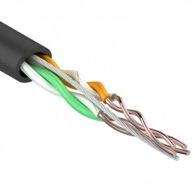 Витая пара, UTP-кабель UTP 2PR 24AWG CAT5e 305м OUTDOOR REXANT